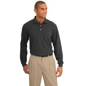 Port Authority® Rapid Dry™ Long Sleeve Polo Shirt