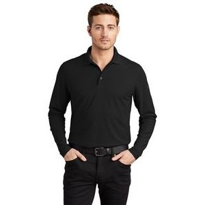 OGIO® Men's Caliber2.0 Long Sleeve Polo Shirt