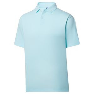 FootJoy ProDry Performance Lisle Solid Gingham Trim- Athletic Fit Polo