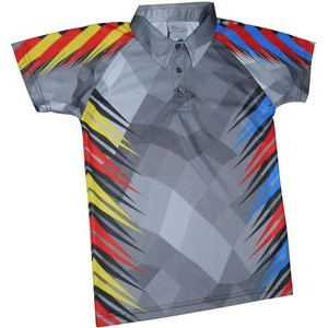Fully Sublimated Men's Adult polo shirt