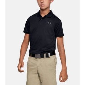 Under Armour® UA Boy's Performance Textured Golf Polo Shirt